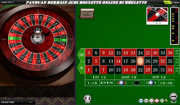 Panduan Bermain Judi Roulette Online di roulette